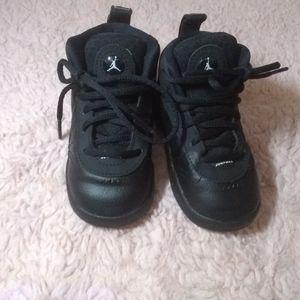 Jordan Jumpman Pro Black Toddler Sneakers Size 6